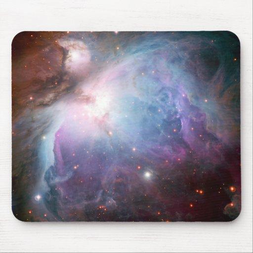 Orion Nebula Purple Space Mouse Pad
