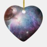 Orion Nebula Purple Space Ornaments