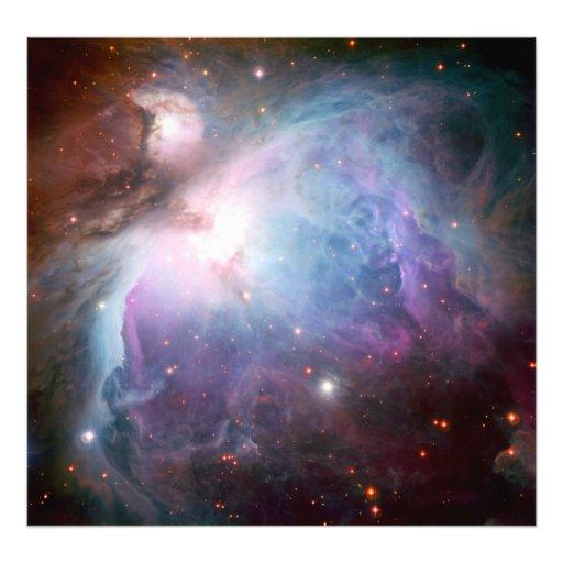 Orion Nebula Purple Space Photograph
