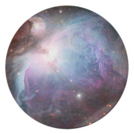 Orion Nebula Purple Space Plate