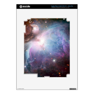 Orion Nebula Purple Space Decal For iPad 3