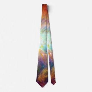 Orion Nebula Rainbow Galaxy Neck Tie
