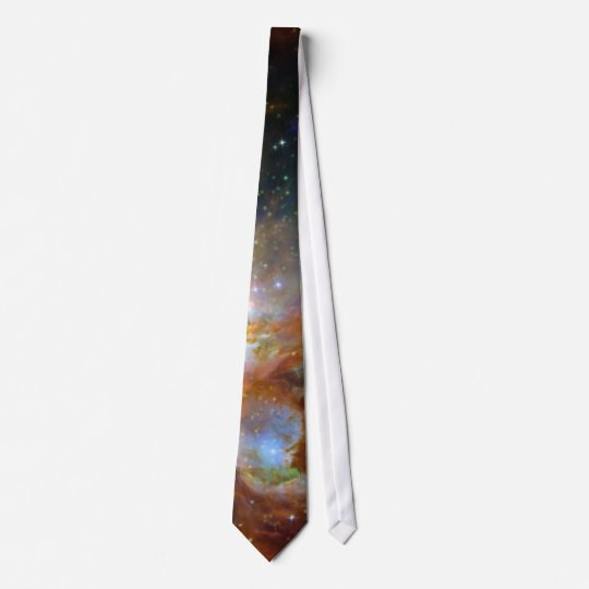 Orion Nebula reddish brown NASA Tie