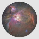 Orion Nebula Round Sticker