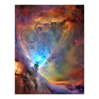 Orion Nebula Space Craft Paper - 2 Sided