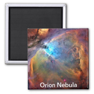 Orion Nebula Space Galaxy 2 Inch Square Magnet