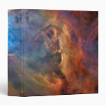 Orion Nebula Space Galaxy 3 Ring Binders