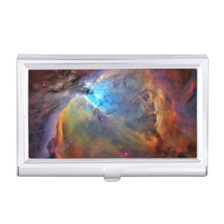 Orion Nebula Space Galaxy Business Card Holder