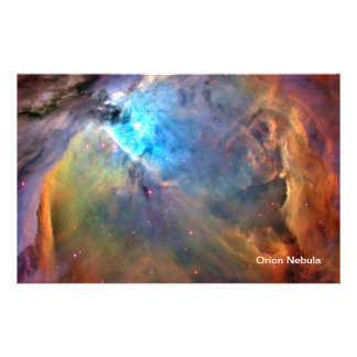 Orion Nebula Space Galaxy Flyer
