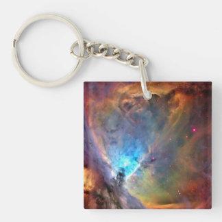 Orion Nebula Space Galaxy Acrylic Keychain
