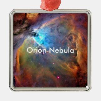 Orion Nebula Space Galaxy Metal Ornament
