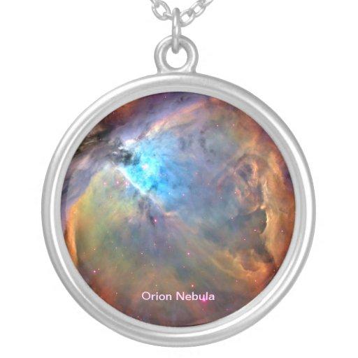 Orion Nebula Space Galaxy Necklace