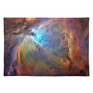 Orion Nebula Space Galaxy Cloth Placemat