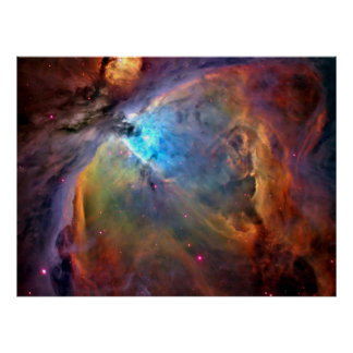 Orion Nebula Space Galaxy Print