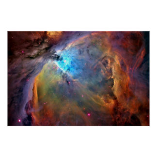 Orion Nebula Space Galaxy Print X LG 60x40