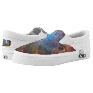 Orion Nebula Space Galaxy Slip On Shoes Printed Shoes