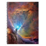Orion Nebula Space Galaxy Spiral Notebook