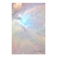 Orion Nebula Space Galaxy Stationery at Zazzle