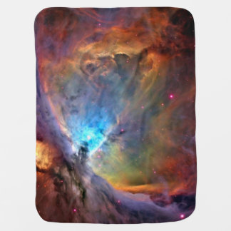 Orion Nebula Space Galaxy Stroller Blanket