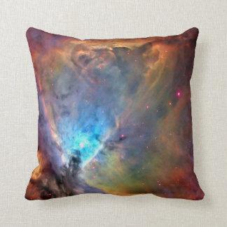 Orion Nebula Space Galaxy Throw Pillow