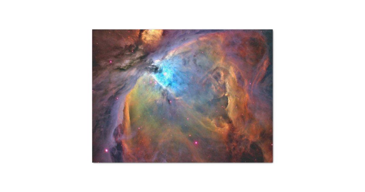 Orion Nebula Space Galaxy Tissue Paper | Zazzle.com