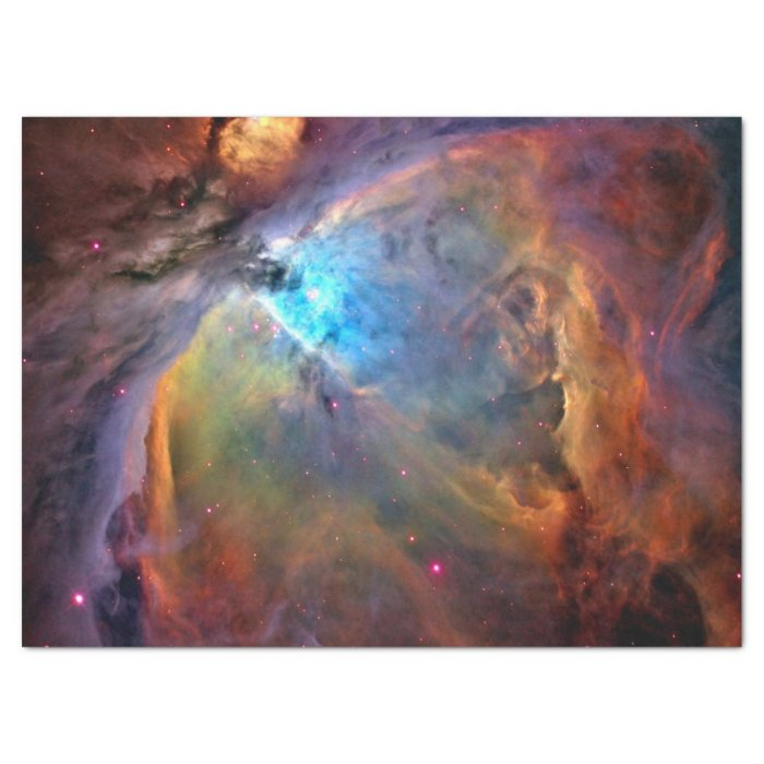 Orion Nebula Space Galaxy Tissue Paper | Zazzle
