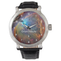 Orion Nebula Space Galaxy Wrist Watch