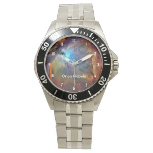 Orion Nebula Space Galaxy Wrist Watches