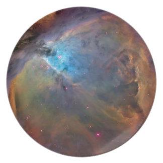 ORION NEBULA SPACE WONDERS STARS GALAXY UNIVERSE P PARTY PLATE