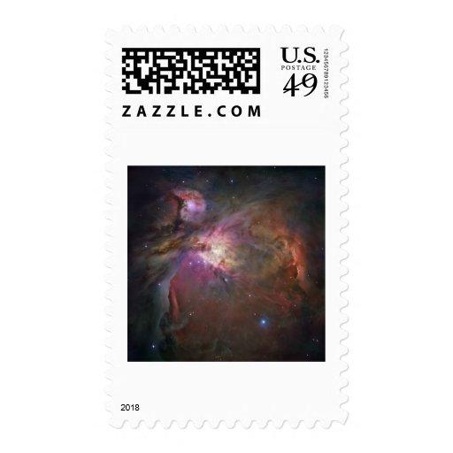 Orion Nebula Stamp