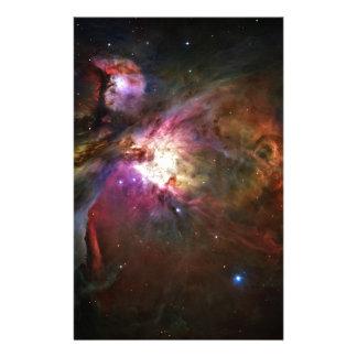 Orion Nebula Stationery Paper