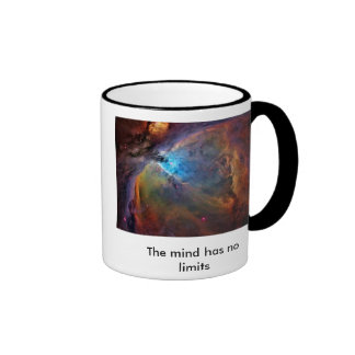 orion-nebula, The mind has no limits Ringer Mug