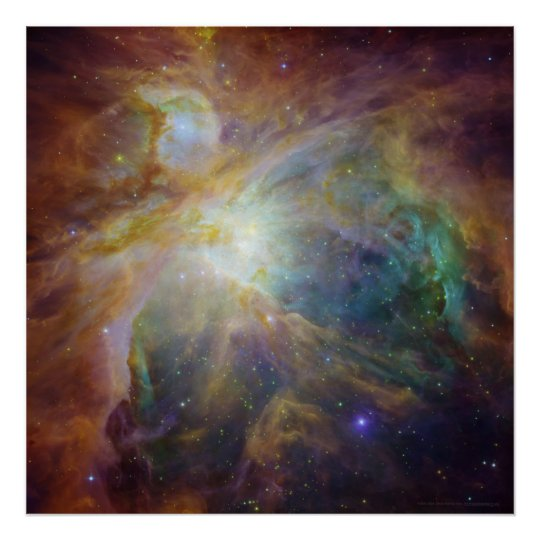Orion Nebula View 20x20 (20x20) Poster