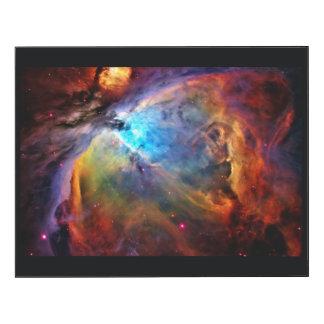 Orion Nebula Wood Wall Art