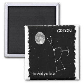Orion, original great hunter 2 inch square magnet