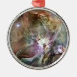 Orion Round Metal Christmas Ornament