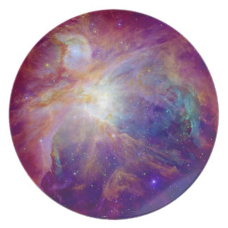 Orion space dinner plates