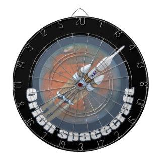 Orion Spacecraft Dart Board