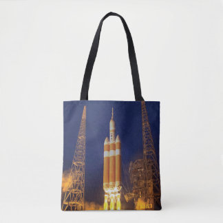Orion Spacecraft Liftoff Tote Bag