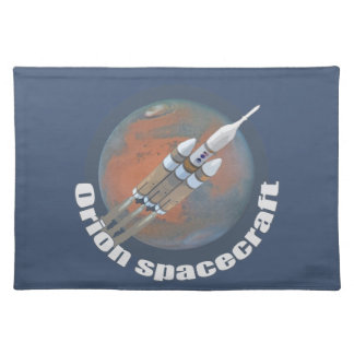 Orion Spacecraft Cloth Place Mat