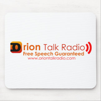 Orion Talk Radio Mouse Pad