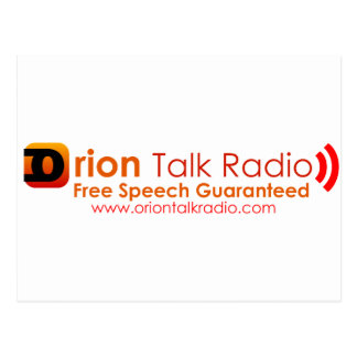 Orion Talk Radio Postcard