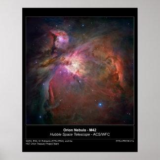 OrionNebula-M42-2006-01a Póster