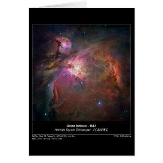 OrionNebula-M42-2006-01a Tarjetón