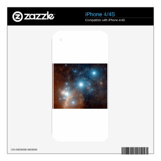 Orion's Belt Decals For iPhone 4