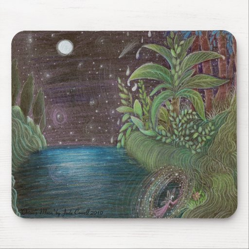 'Orion's Moon' by Jude Cowell mPad Mousepads