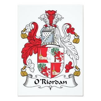 O'Riordan Family Crest Announcement