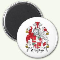 O'Riordan Family Crest Magnet