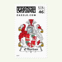 O'Riordan Family Crest Stamps