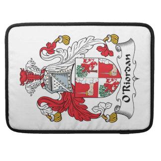 O'Riordan Family Crest Sleeves For MacBooks